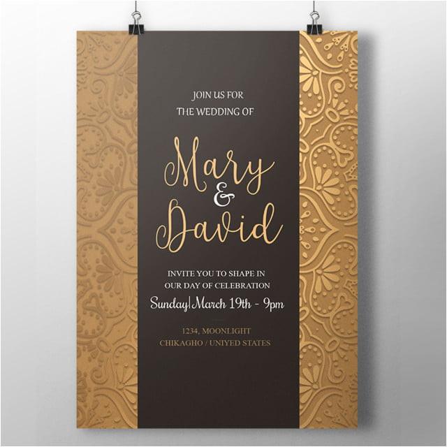 fantastic royal wedding invitation 3549532