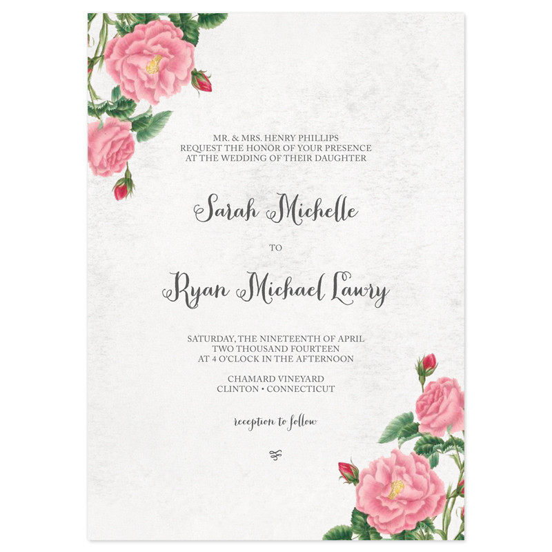 sample of wedding invitation cards
