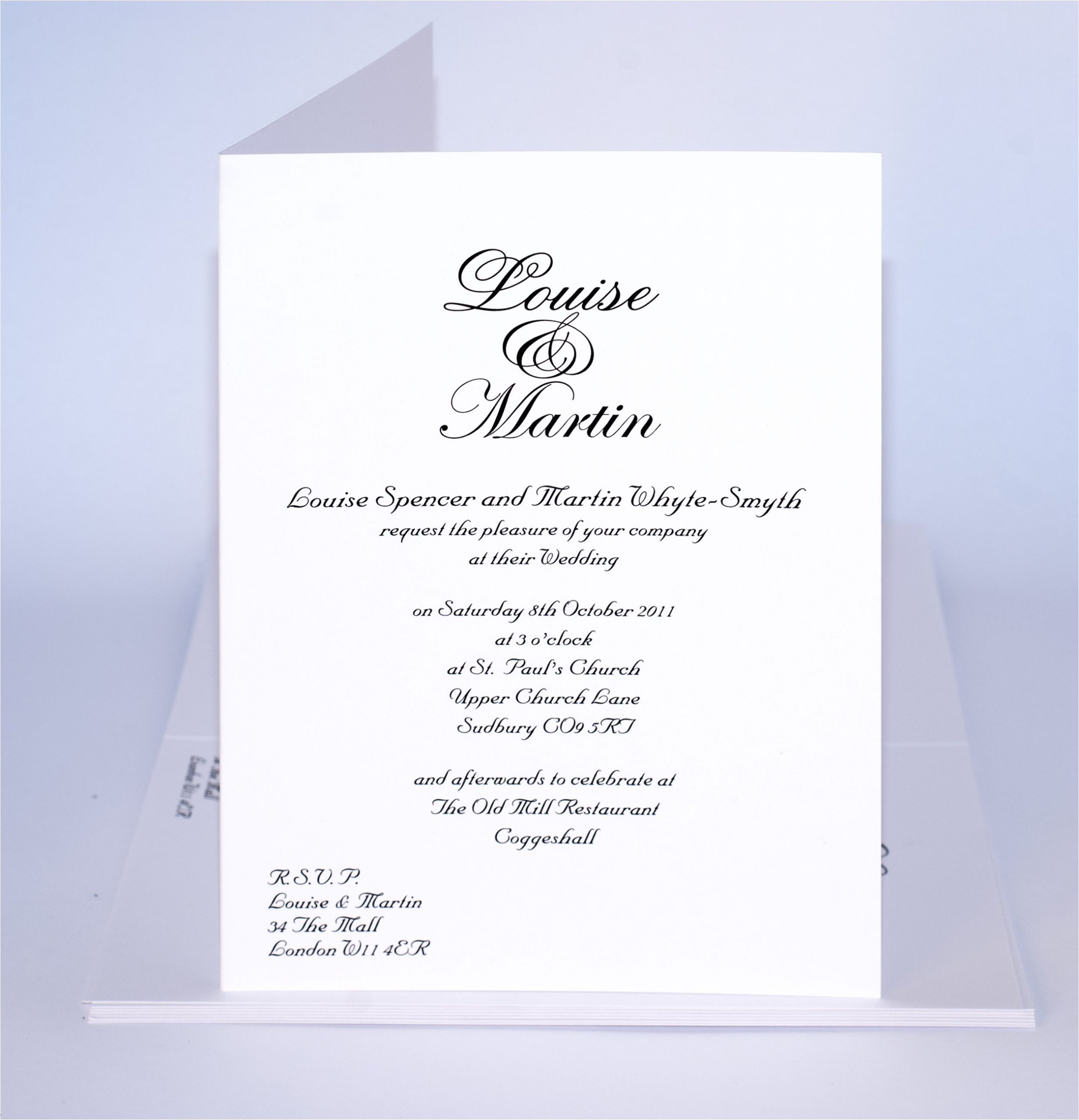 sample wedding invitations templates