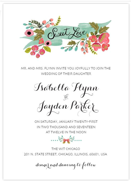 free wedding invitation templates 1358246