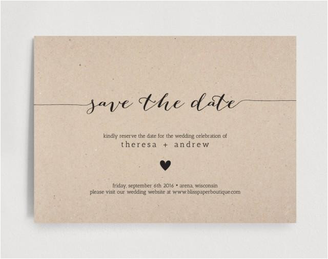 save the date invitation wedding rehearsal editable template rustic pdf instant download bpb110