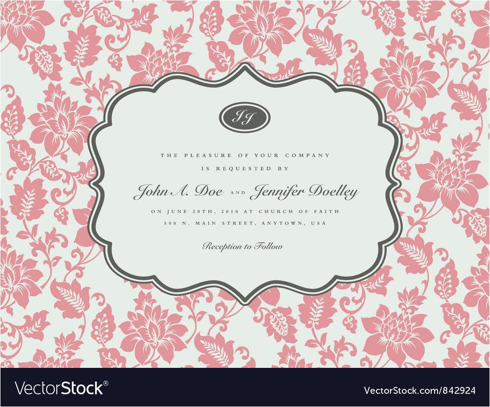 wedding invitation templates vector 842924