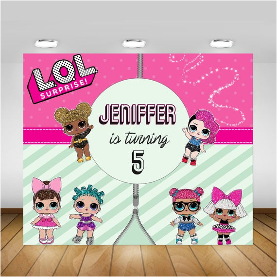 printable lol surprise doll birthday