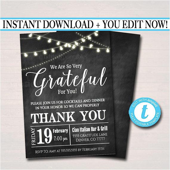 editable appreciation invitation