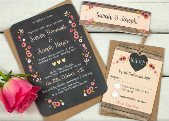 sample traditional wedding invitation