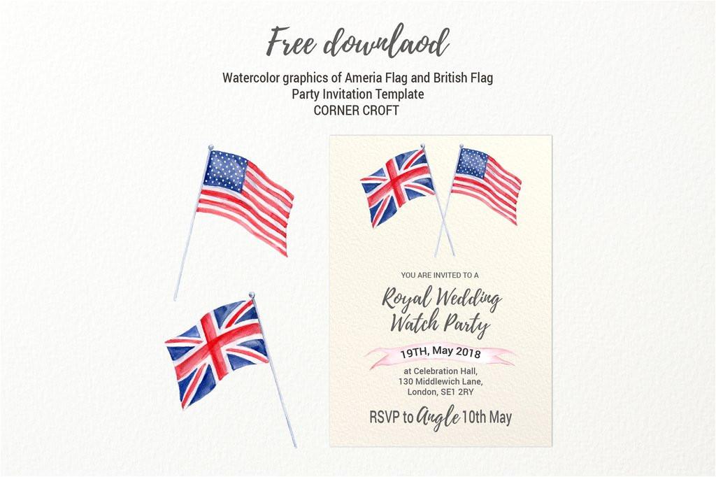 royal wedding invitation template free download