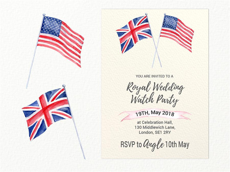 4555800 royal wedding party invitation template free download