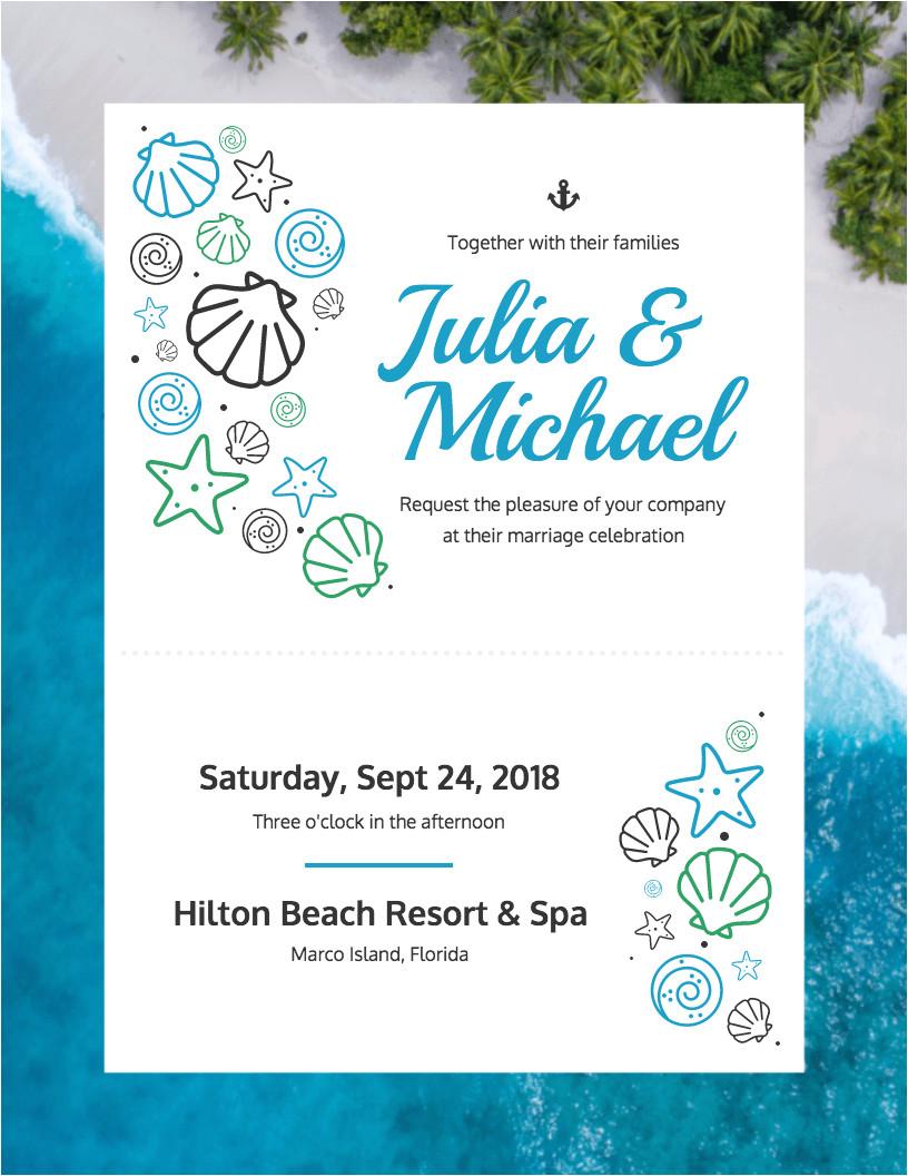 do it yourself wedding invitation templates