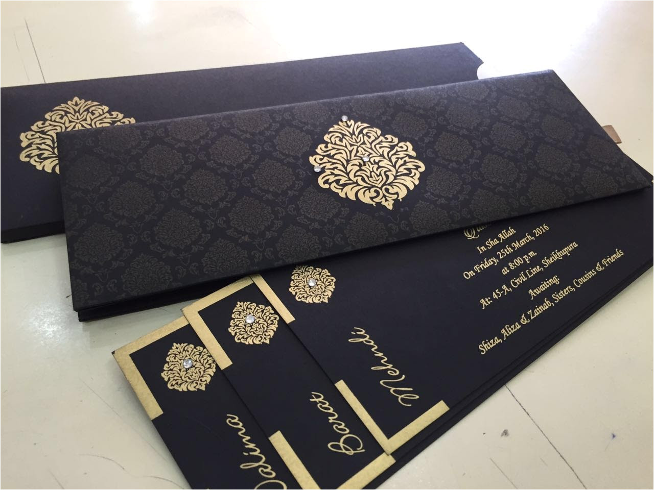pakistani wedding card wording