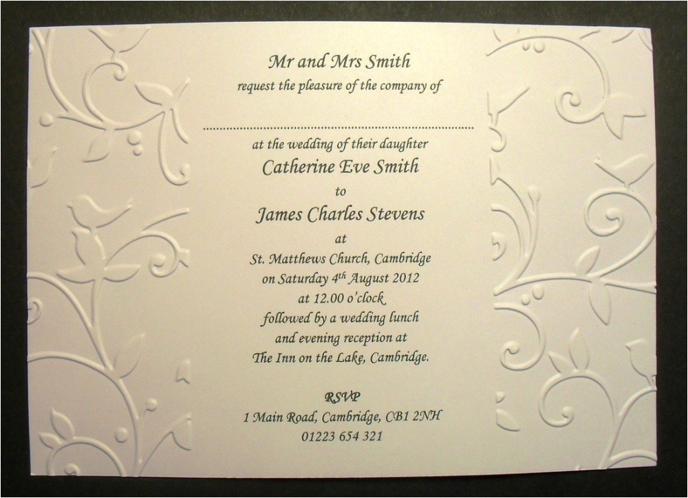 catholic wedding invitation wording samples