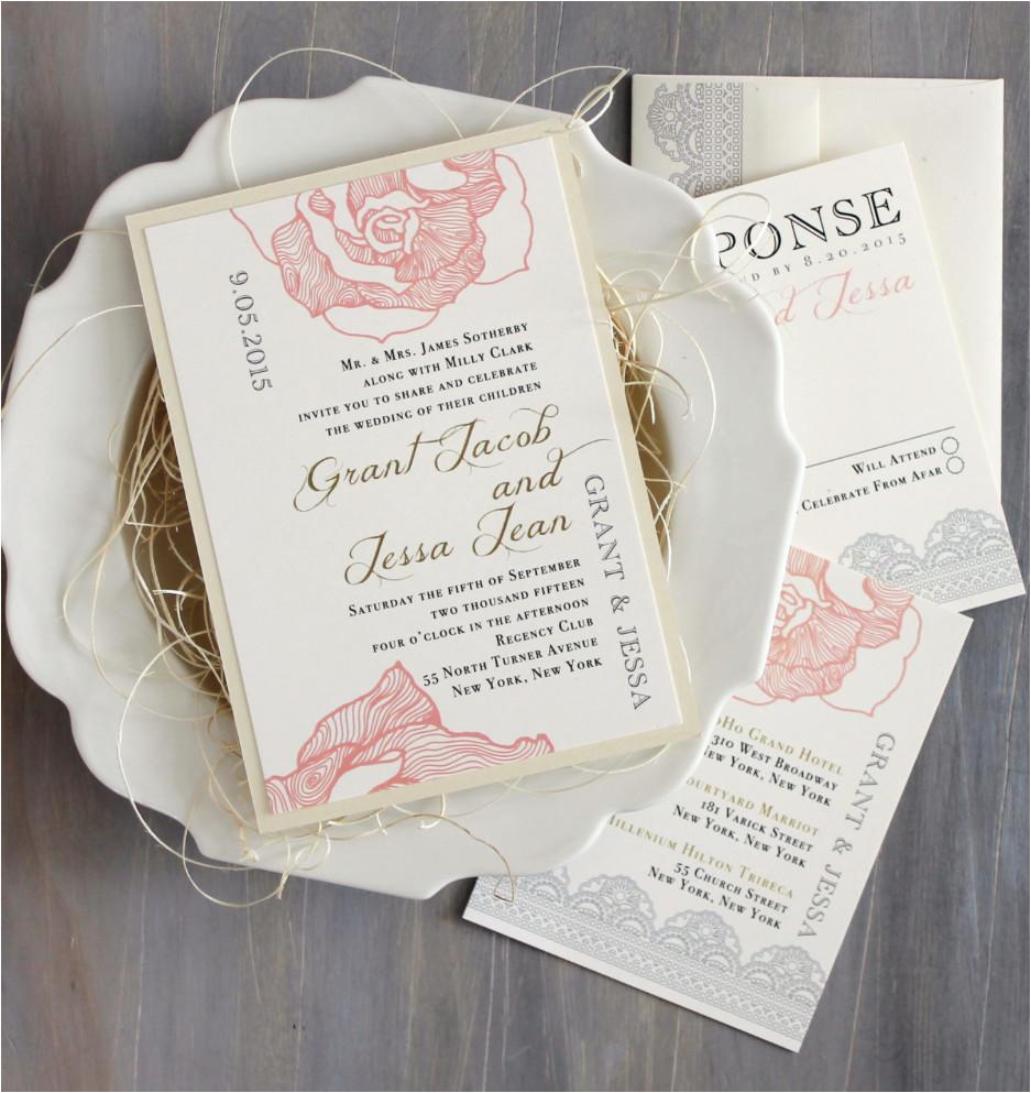 unique wedding invitation ideas