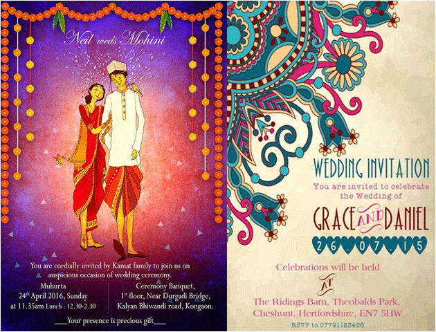 whatsapp wedding invitation messages card templates
