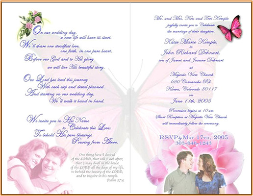 10 wedding invitation sample wording