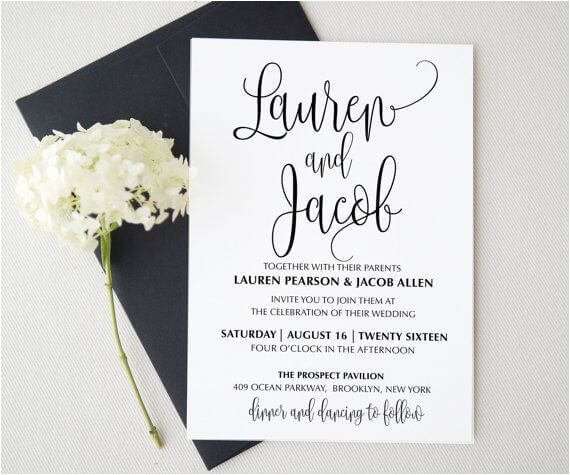 weddings invitation