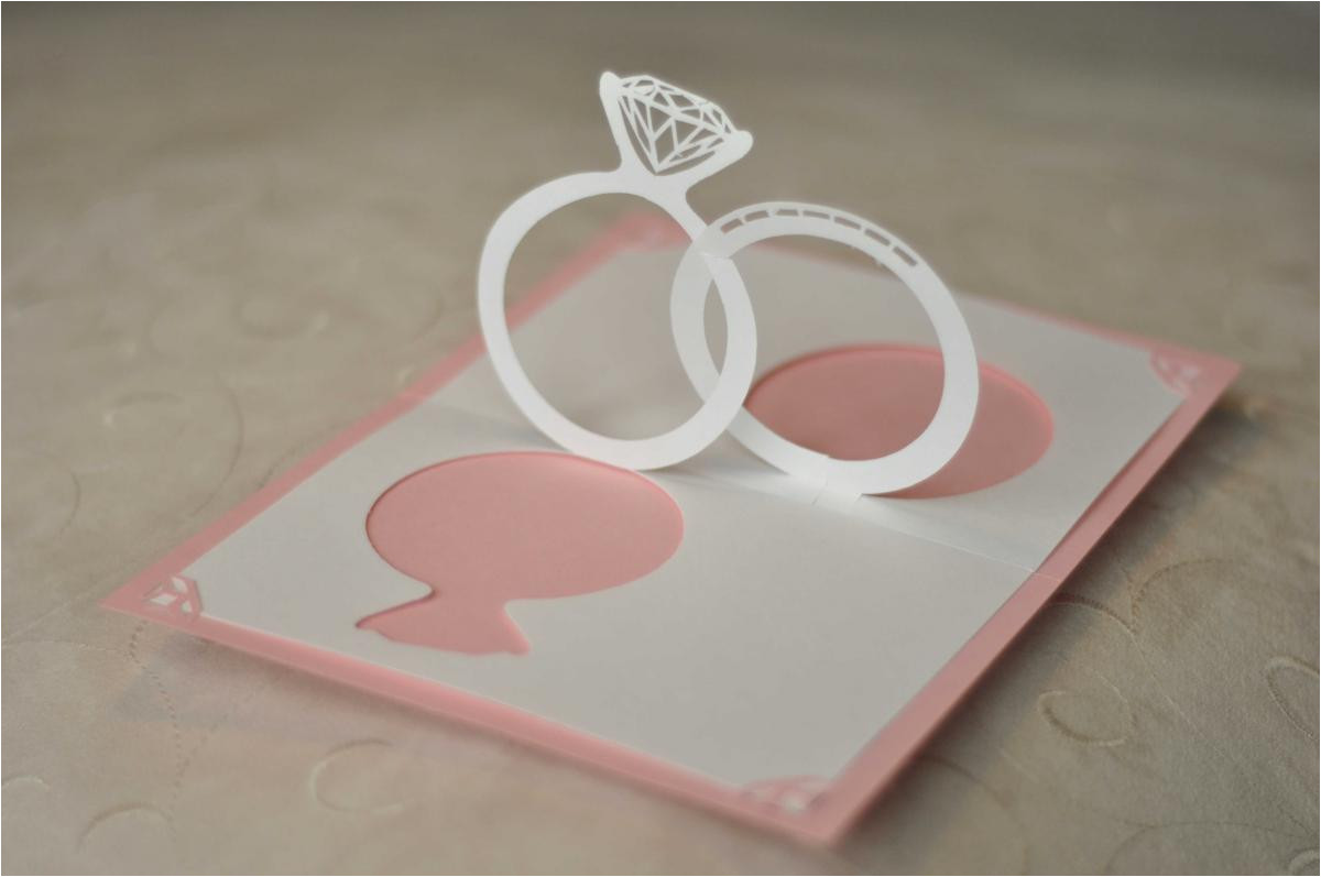 make your wedding invitations pop 3d effect