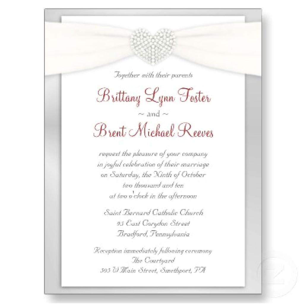 wedding invitation templates wording