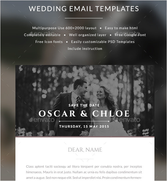 email invitation templates