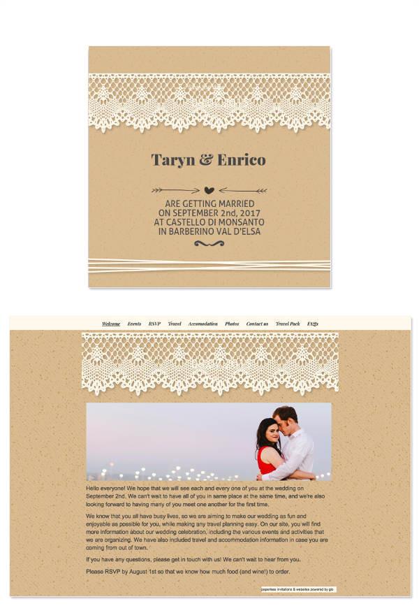Wedding Invitation Template Email 8 Wedding E Mail Invitation Templates Psd Ai Word