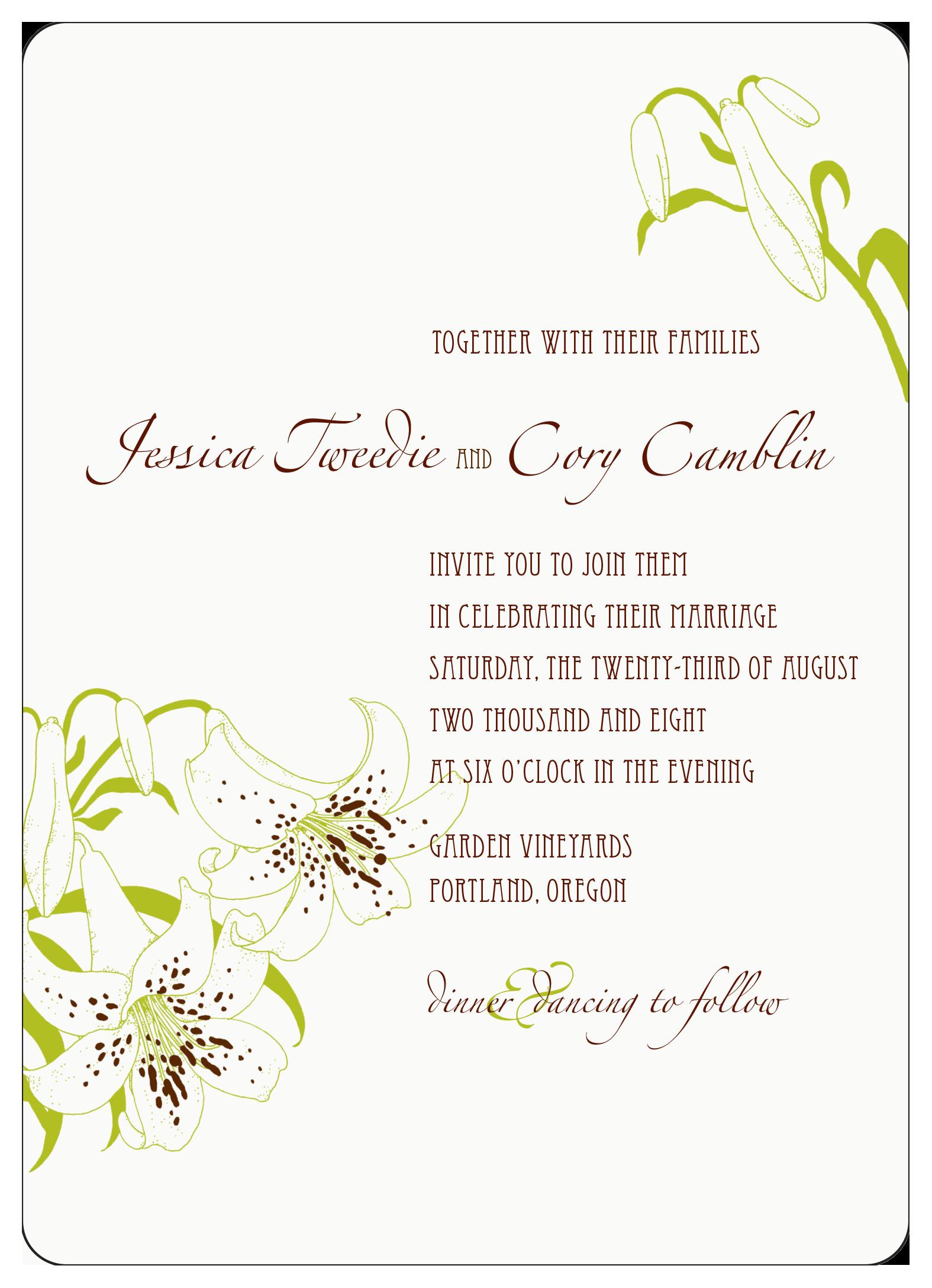 adobe illustrator wedding invitation 2008
