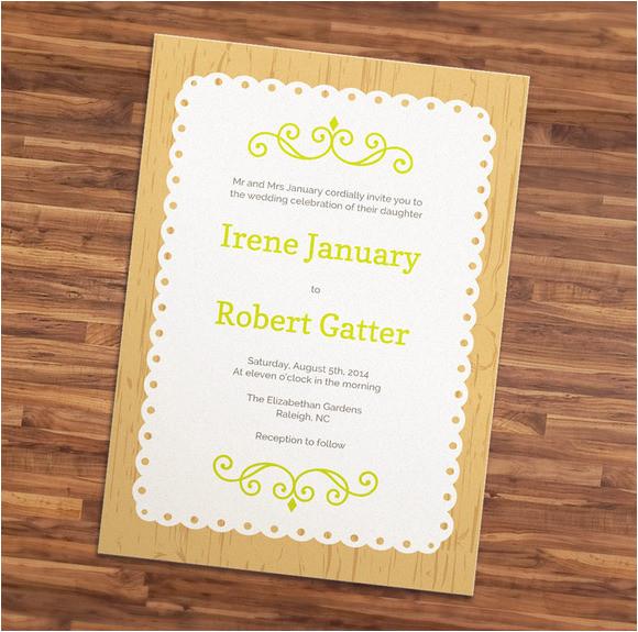 wedding invitation templates adobe