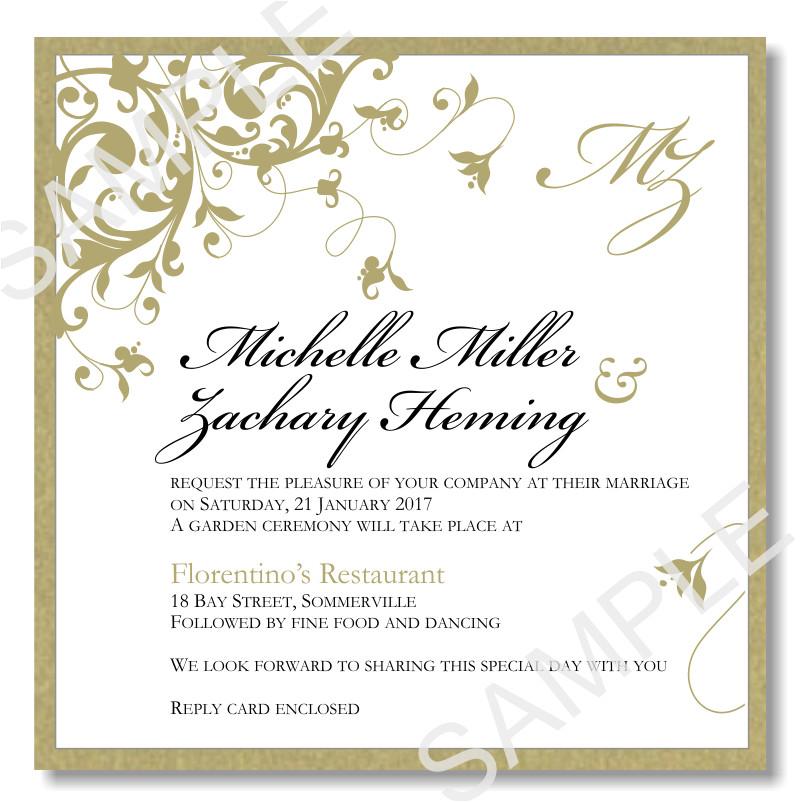 wedding invitations template word