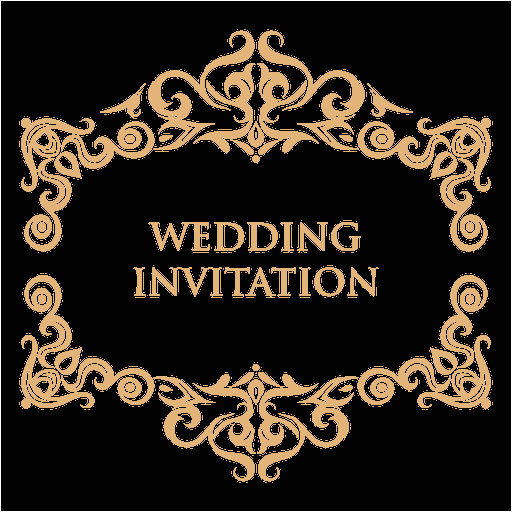 wedding invitation label 2