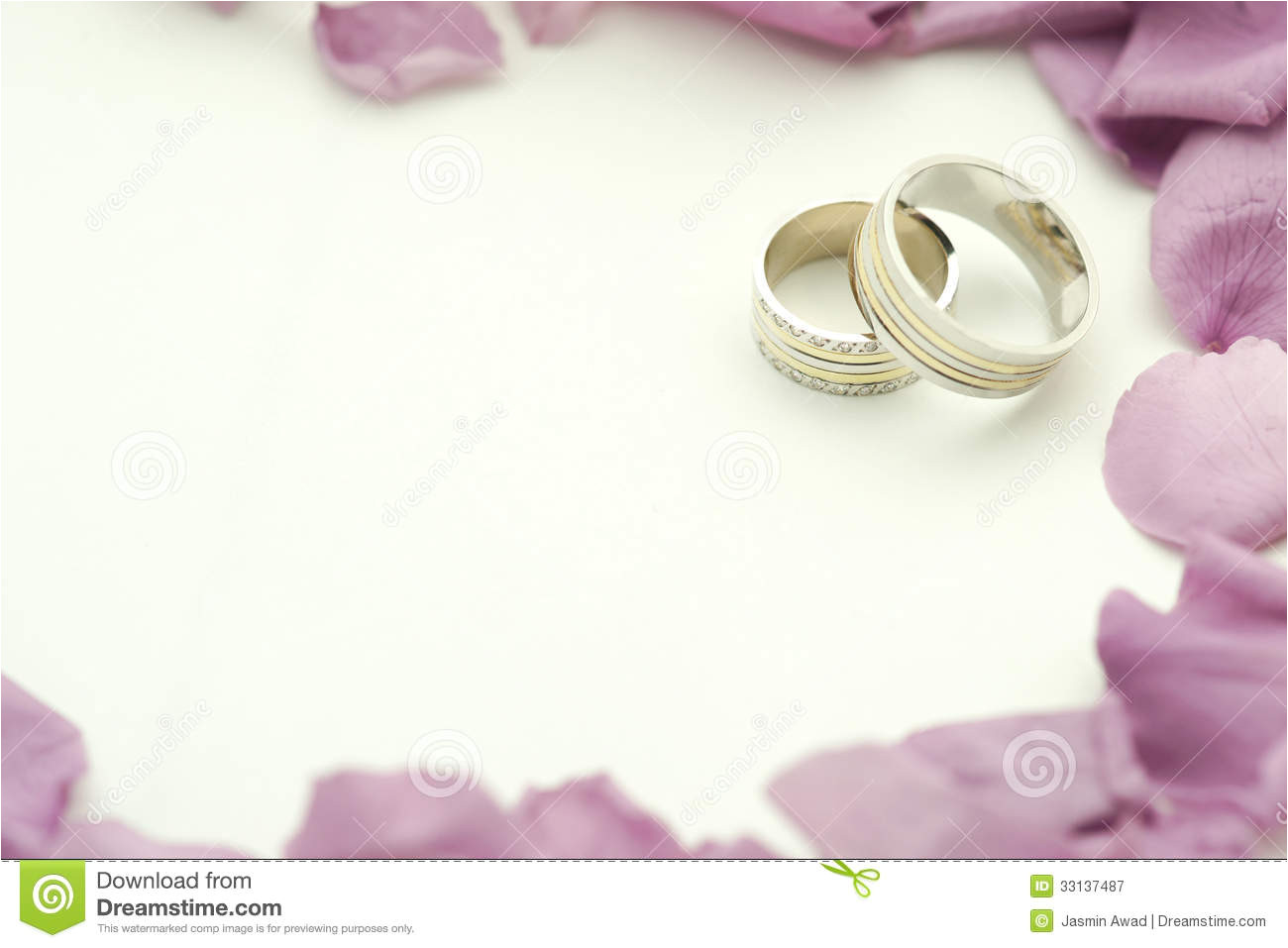 royalty free stock photography elegant wedding invite rings roses copy space image33137487