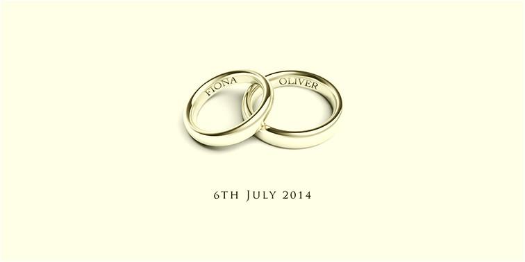 Wedding Invitation Template Rings Wedding Invitations Adela Rosa
