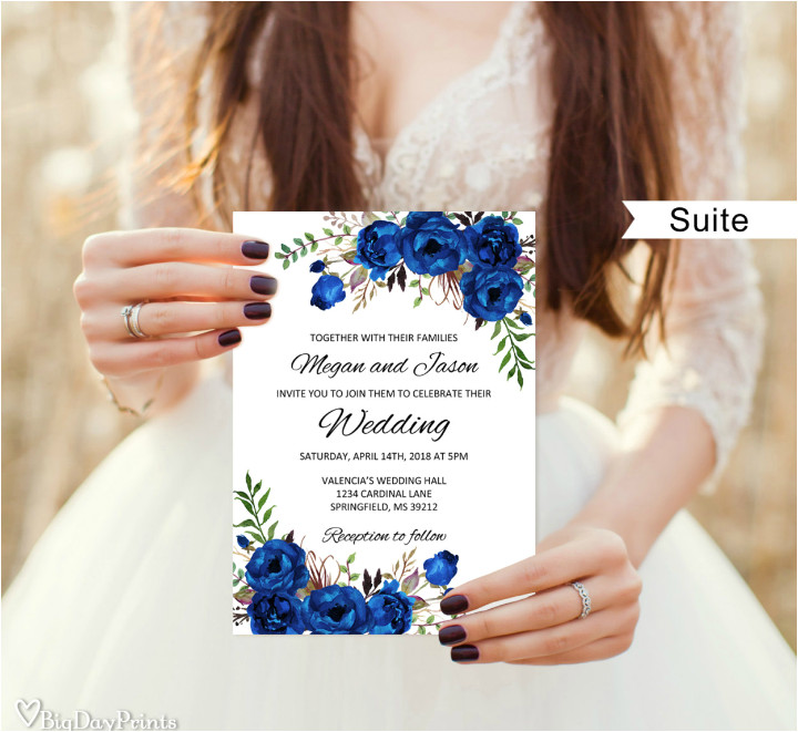 floral wedding template