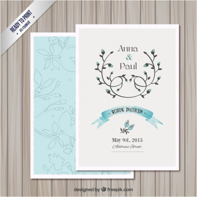 wedding invitation card template 763876