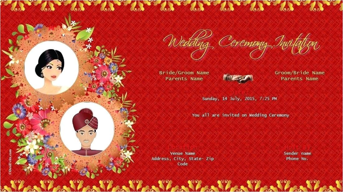 whatsapp wedding invitation video template free download