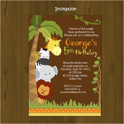 category invitation design 50