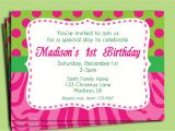 1 Birthday Party Invitation Wording Birthday Invitation Wording Birthday Invitation Wording