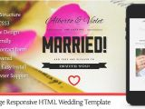 1 Page Wedding Invitation 25 Best Responsive HTML5 Wedding Templates Designssave Com