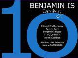 10 Year Old Boy Birthday Party Invitation Wording 10 Year Old Birthday Invitations