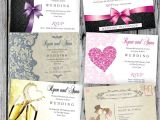 100 Personalised Wedding Invitations 100 Personalised Wedding evening Invitations with
