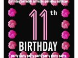 11th Birthday Party Invitations 17 Best Images About 11th Birthday Party Invitations On