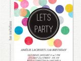 11th Birthday Party Invitations Tween Birthday Party Invitation Confetti 11th Birthday