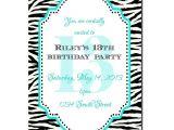 13th Birthday Invitations for Girls 13th Birthday Party Invitation Girl Birthday Invitation