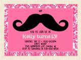 13th Birthday Invitations for Girls 13th Birthday Party Invitation Ideas – Bagvania Free