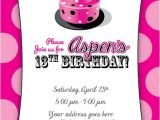 13th Birthday Invitations Printable 7 Best Of Free Printable 13th Birthday Invitations