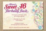 16 Year Old Birthday Invitations Sweet 16 Birthday Invitations Templates Free Sweet 16