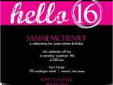 16th Birthday Party Invitations Templates Free Sweet 16 Invitation Cards Designs Google Search