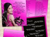 18th Birthday Invitation Sample 18th Birthday Invitation Card Masquerade theme Our Boss