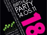 18th Birthday Invitation Sample 18th Birthday Invitation Idea Party Pinterest