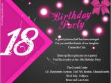 18th Birthday Invitation Sample 18th Birthday Party Invitations theruntime Com