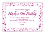18th Birthday Invitation Sample 20 Staggering 18th Birthday Party Invitations theruntime Com