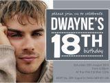 18th Birthday Invitations Male 18th Birthday Invitations Templates