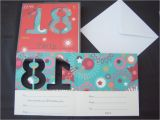 18th Birthday Invitations Male 18th Birthday Party Invitations Male Female Cards Pack Of