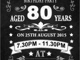 18th Birthday Invitations Male 80th Birthday Invitations Birthday Party Invitations